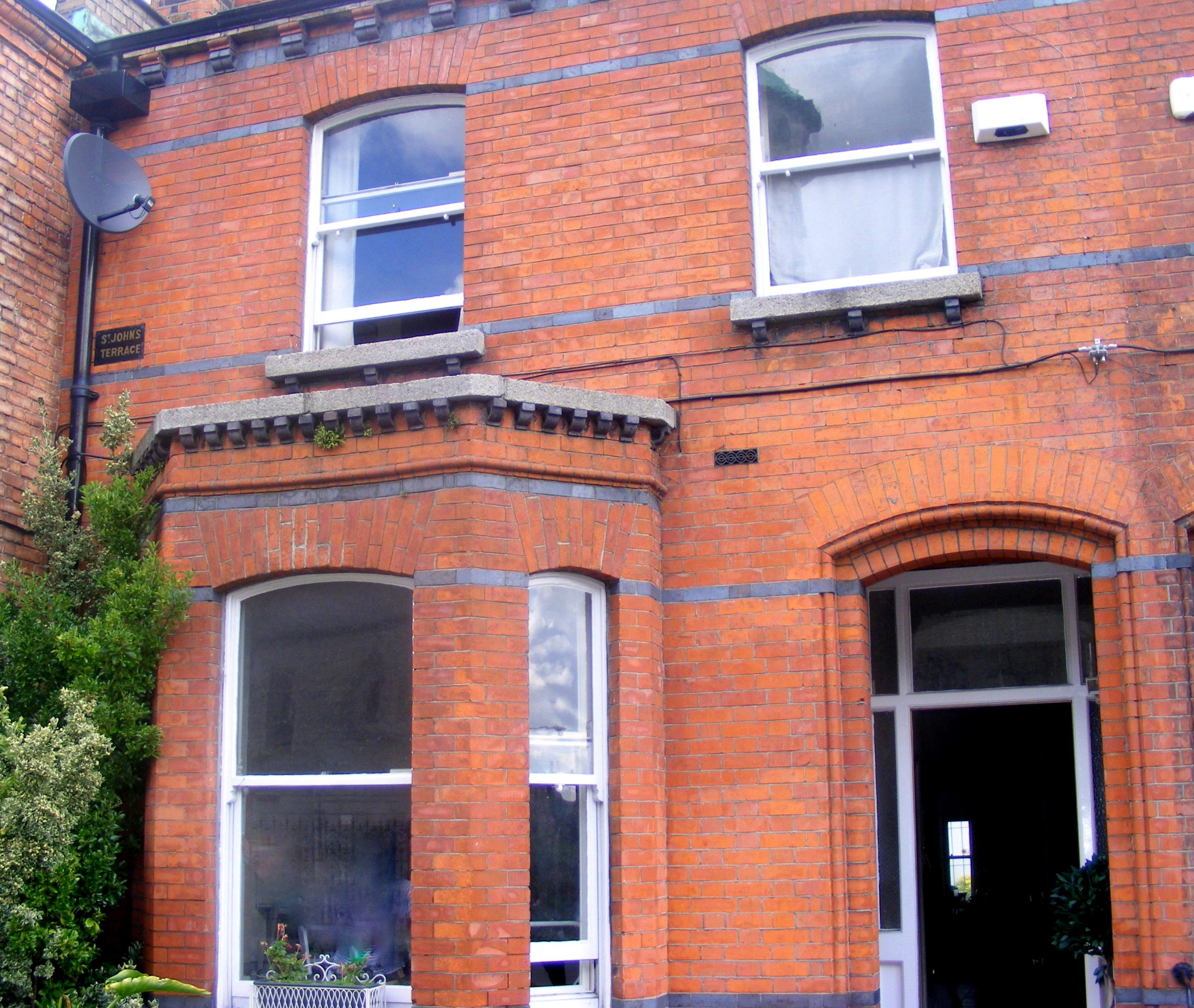Before After Period Red Brick In Dublin 8 Window Plantation Shutters Shutters Of Dublin