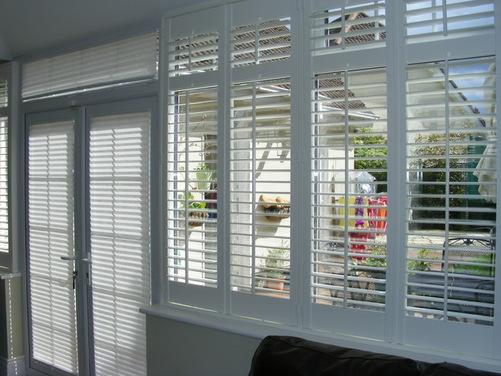 Before Amp After Conservatory Plantation Shutters