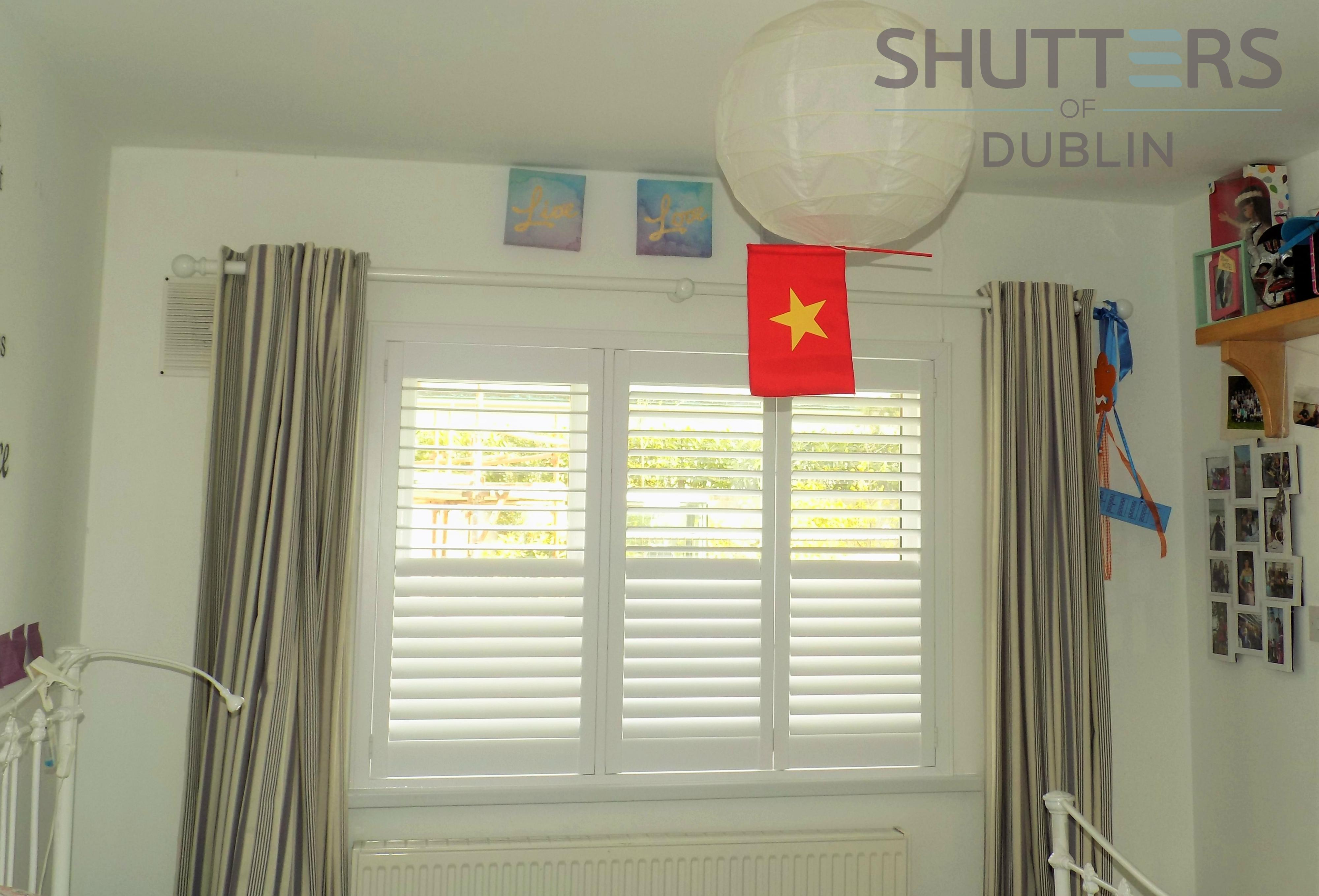 AFTER - Bedroom with Plantation Shutters
