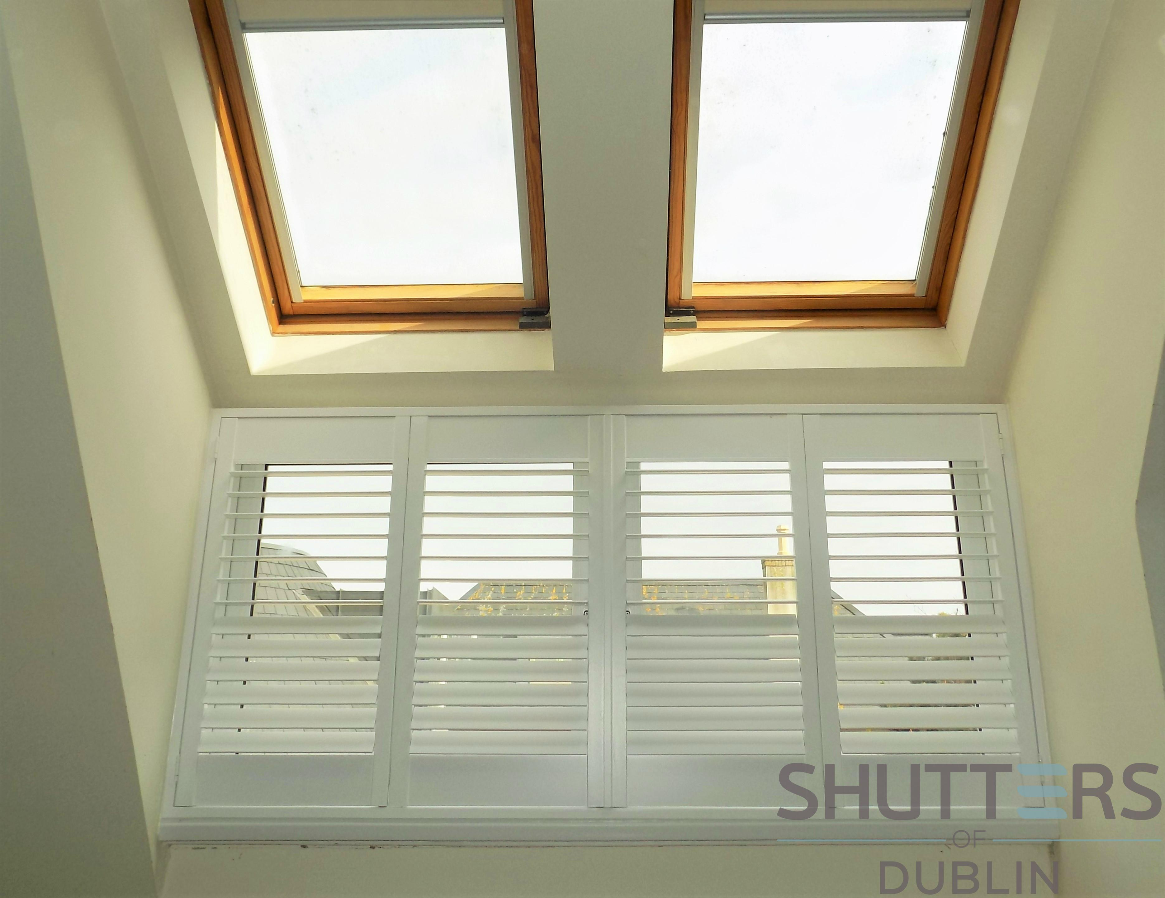 AFTER - Dormer window with Shutters