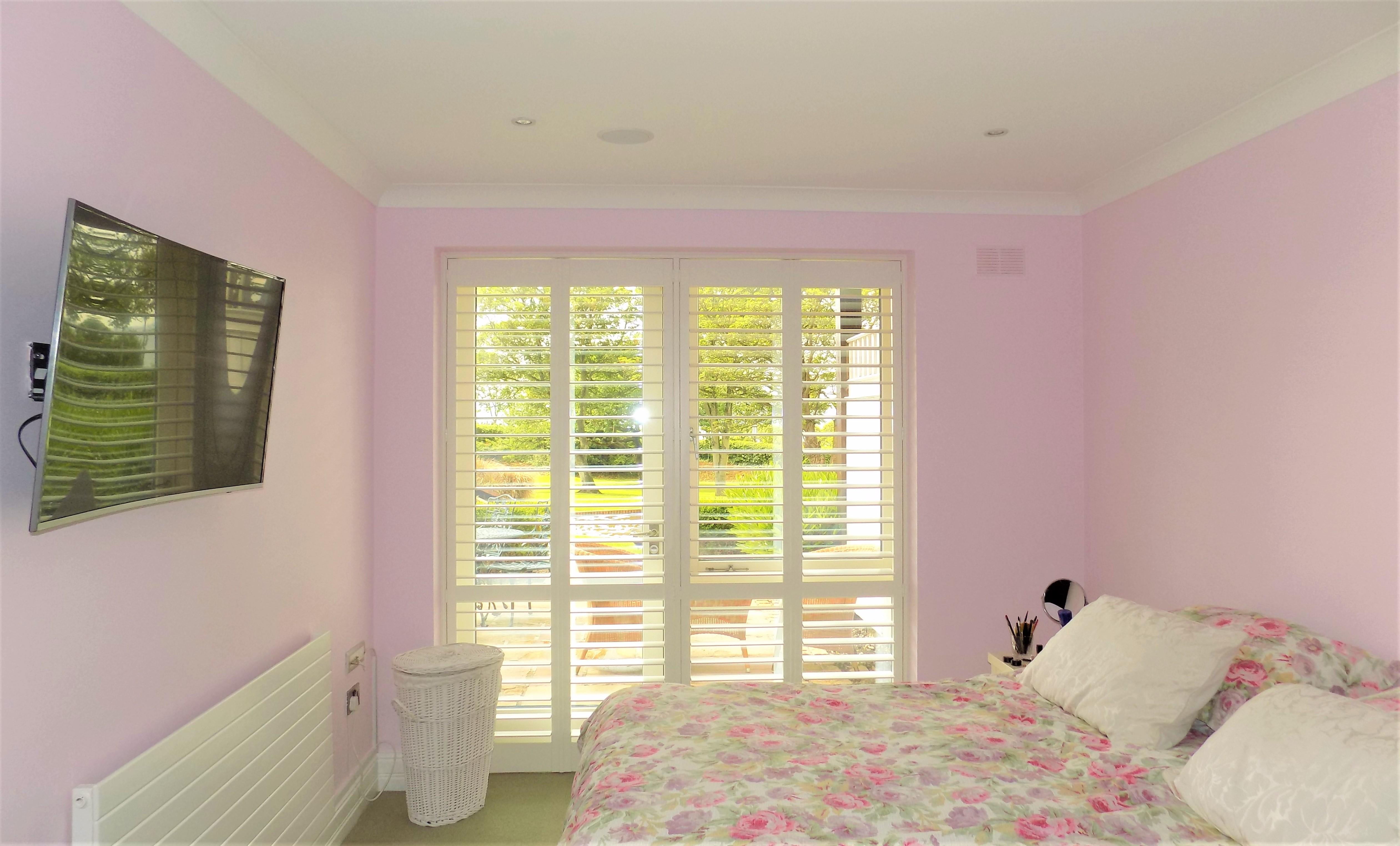 Bedroom - Sutton Plantation Shutters