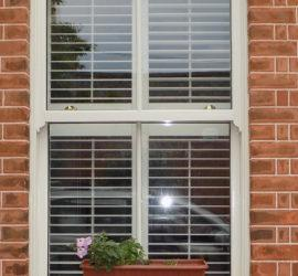 Plantation Shutters External View