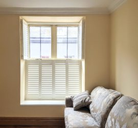 Plantation Shutters fitted in Kinsale, Co Cork