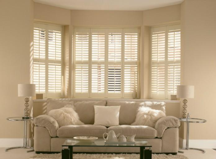 Bay Window Plantation Shutters in Phoenix