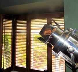teak_plantation_shutters_cinema_light